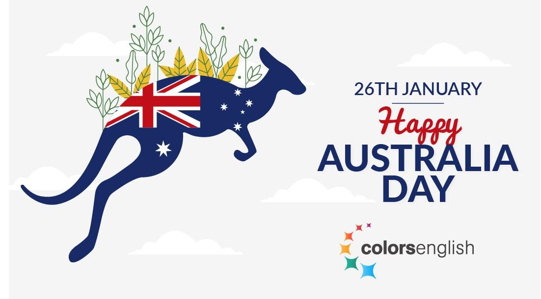Colorsenglish Australia Day