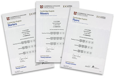 Cambridge Certificates