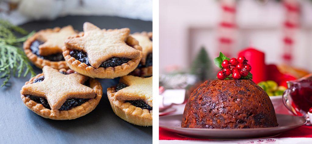 Mince Pies and Christmas Pudding